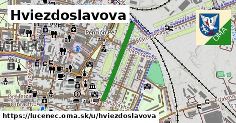 ilustrácia k Hviezdoslavova, Lučenec - 533m