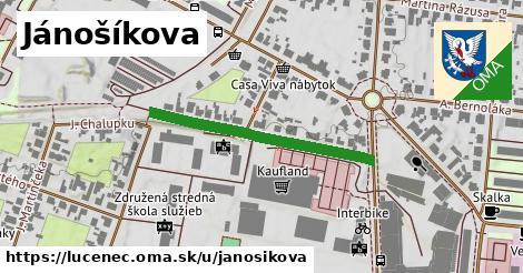 ilustrácia k Jánošíkova, Lučenec - 319m