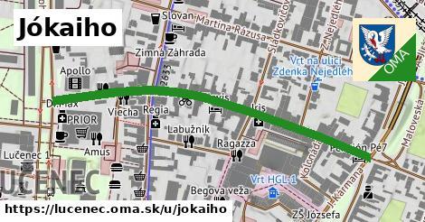 ilustrácia k Jókaiho, Lučenec - 579m