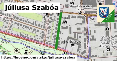 ilustračný obrázok k Júliusa Szabóa, Lučenec