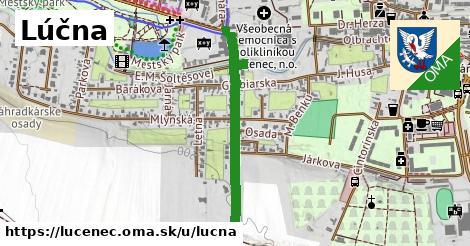 ilustrácia k Lúčna, Lučenec - 669m