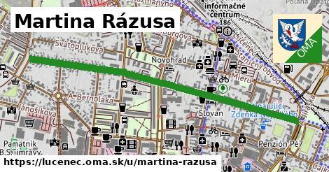 ilustrácia k Martina Rázusa, Lučenec - 1,26km