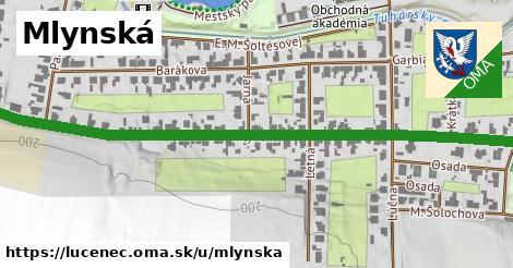 ilustrácia k Mlynská, Lučenec - 0,74km