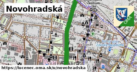 ilustrácia k Novohradská, Lučenec - 1,62km