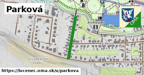 ilustrácia k Parková, Lučenec - 231m