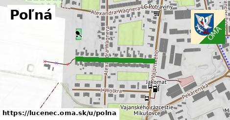 ilustrácia k Poľná, Lučenec - 257m