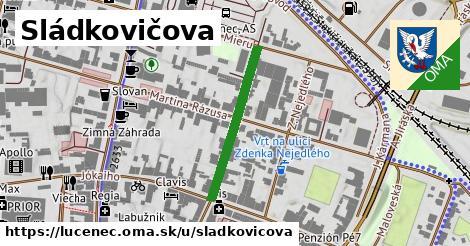 ilustrácia k Sládkovičova, Lučenec - 255m