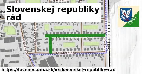 ilustračný obrázok k Slovenskej Republiky Rád, Lučenec