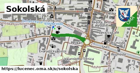 ilustračný obrázok k Sokolská, Lučenec