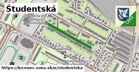 ilustrácia k Študentská, Lučenec - 271m