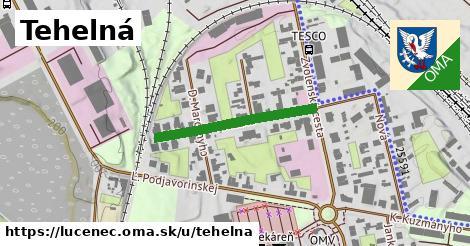 ilustrácia k Tehelná, Lučenec - 263m