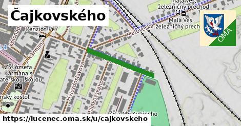 ilustrácia k Čajkovského, Lučenec - 221m