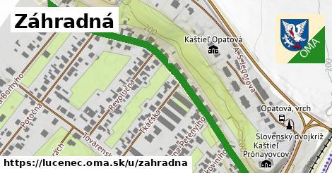 ilustrácia k Záhradná, Lučenec - 0,71km