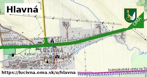 ilustrácia k Hlavná, Lučivná - 2,1km