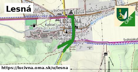 ilustrácia k Lesná, Lučivná - 649m