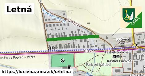 ilustrácia k Letná, Lučivná - 264m