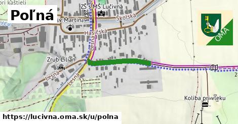 ilustrácia k Poľná, Lučivná - 199m