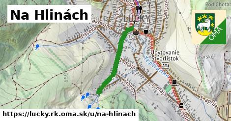 ilustrácia k Na Hlinách, Lúčky, okres RK - 496m