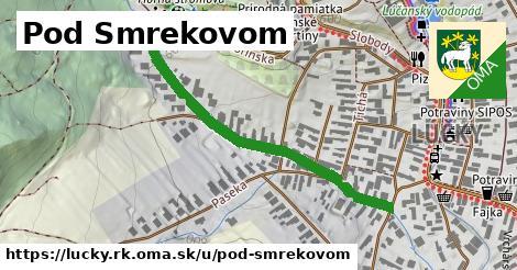 ilustrácia k Pod Smrekovom, Lúčky, okres RK - 471m