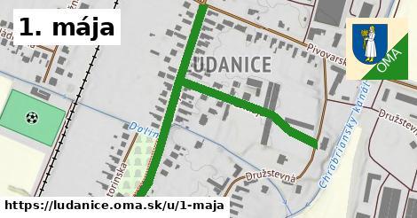 ilustrácia k 1. mája, Ludanice - 657m