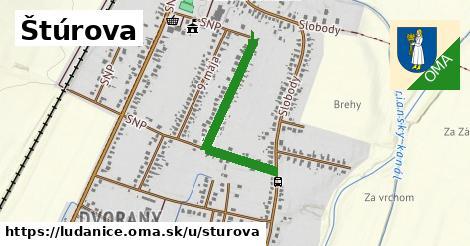 ilustrácia k Štúrova, Ludanice - 634m