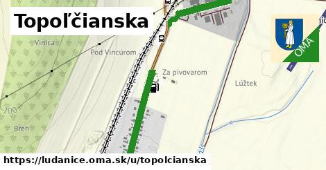 ilustrácia k Topoľčianska, Ludanice - 1,05km