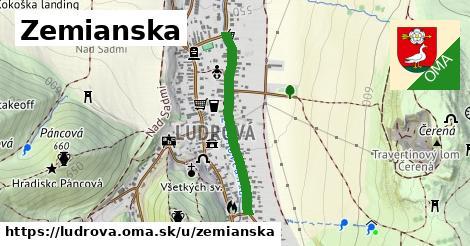 ilustrácia k Zemianska, Ludrová - 585m