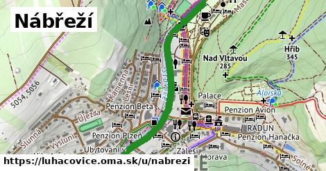 ilustrácia k Nábřeží, Luhačovice - 0,91km