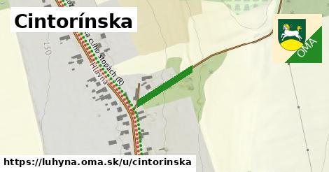 ilustrácia k Cintorínska, Luhyňa - 207m