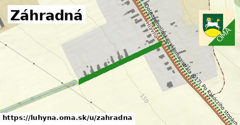 ilustračný obrázok k Záhradná, Luhyňa