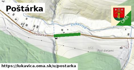 ilustrácia k Poštárka, Lukavica - 145m