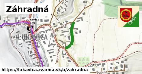 ilustrácia k Záhradná, Lukavica, okres ZV - 172m