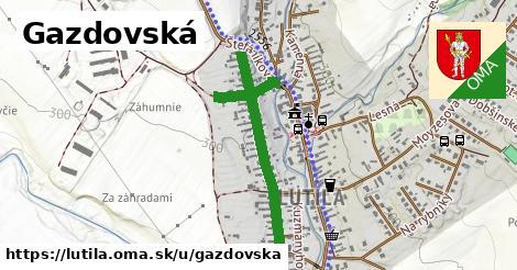 ilustrácia k Gazdovská, Lutila - 0,84km