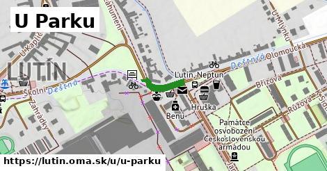 ilustrácia k U Parku, Lutín - 94m