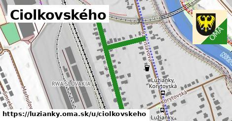 ilustračný obrázok k Ciolkovského, Lužianky