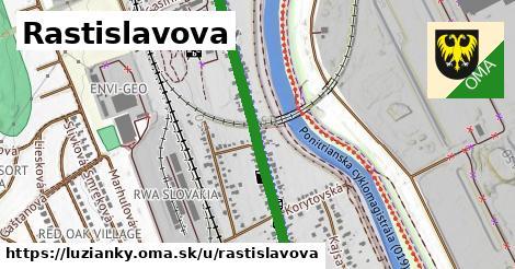 ilustrácia k Rastislavova, Lužianky - 4,0km