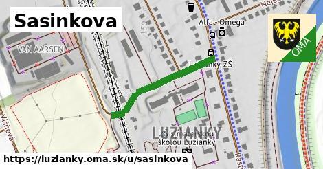 ilustrácia k Sasinkova, Lužianky - 439m