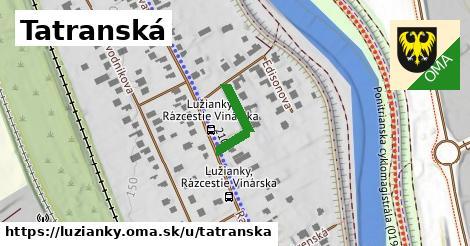 ilustračný obrázok k Tatranská, Lužianky