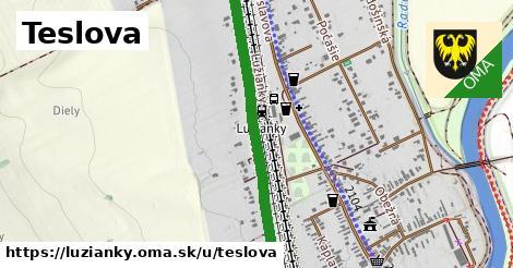 ilustrácia k Teslova, Lužianky - 1,48km