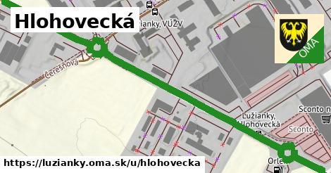 ilustrácia k Hlohovecká, Lužianky - 1,00km