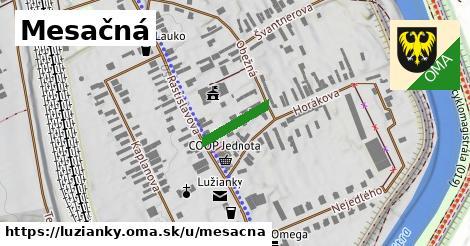ilustrácia k Mesačná, Lužianky - 120m
