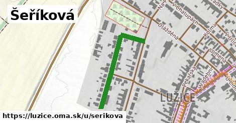 ilustrácia k Šeříková, Lužice - 316m
