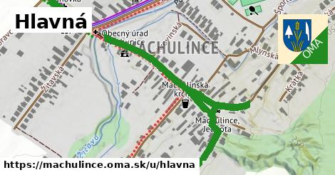ilustrácia k Hlavná, Machulince - 0,71km