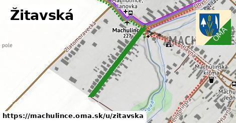 ilustrácia k Žitavská, Machulince - 284m