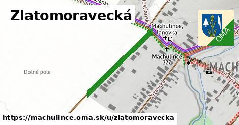 ilustrácia k Zlatomoravecká, Machulince - 292m