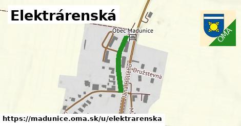 ilustrácia k Elektrárenská, Madunice - 257m