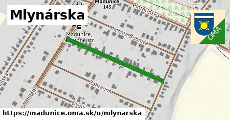 ilustrácia k Mlynárska, Madunice - 344m