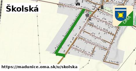 ilustrácia k Školská, Madunice - 0,81km