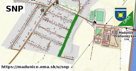 ilustrácia k SNP, Madunice - 500m