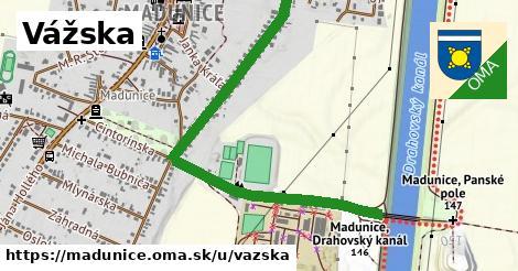ilustrácia k Vážska, Madunice - 1,30km